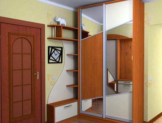 зеркальный шкаф 3D Studio Max