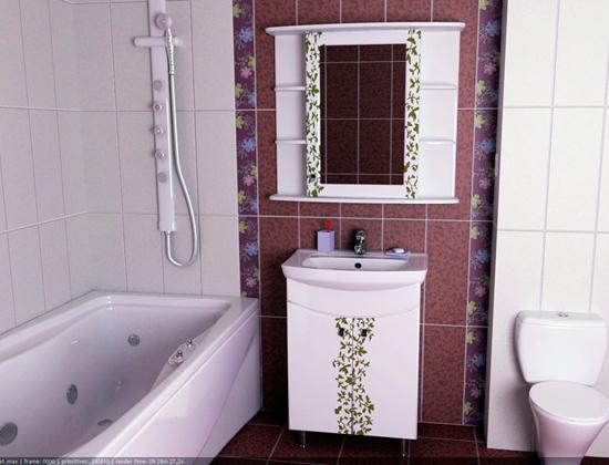 ванная комната в 3D Studio Max